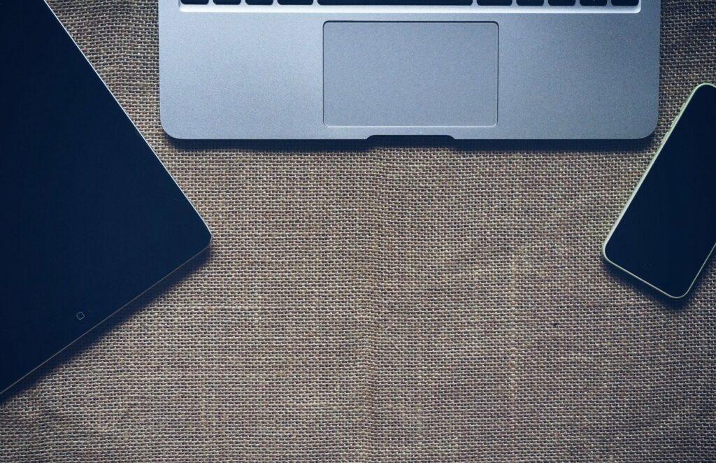 sackcloth, sackcloth textured, laptop